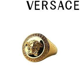 VERSACE リング・指輪 ベルサーチ メンズ&レディース ヴェルサーチ メドゥーサロゴ ゴールド アクセサリー DG57602-DJMT-D00H ブランド