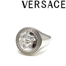 VERSACE リング・指輪 ベルサーチ メンズ&レディース ヴェルサーチ ロゴ シルバー アクセサリー DG57602-DJMT-D00P ブランド