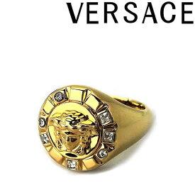 VERSACE リング・指輪 ベルサーチ メンズ&レディース ヴェルサーチ メドゥーサロゴ ゴールド アクセサリー DG57906-DJMX-DCO0H ブランド
