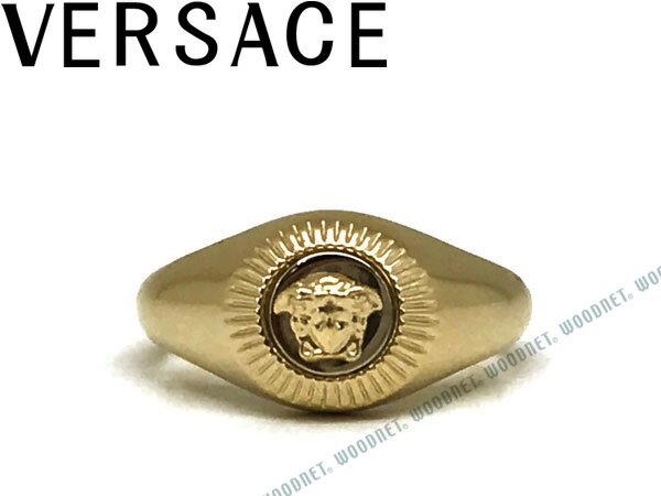 VERSACE ベルサーチ シルバー×ガンメタル リング・指輪 アクセサリー DG5G117-DJMT-DPOC ブランド/メンズ&レディース/男性用&女性用