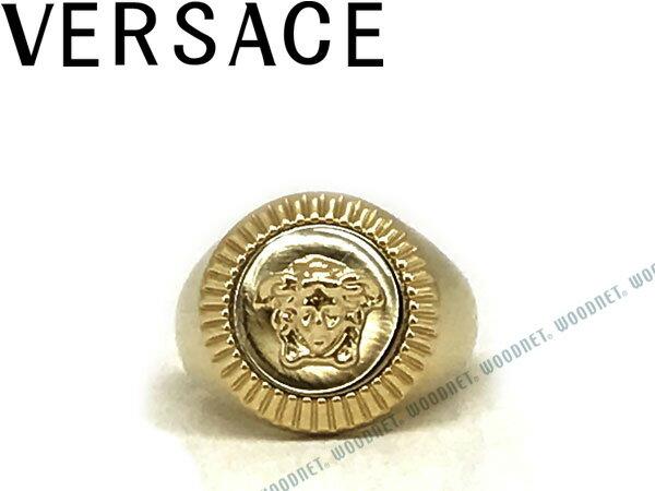 VERSACE ベルサーチ ロゴ リング・指輪 ゴールド アクセサリー DG5G119-DJMT-DPOC ブランド/メンズ&レディース/男性用&女性用