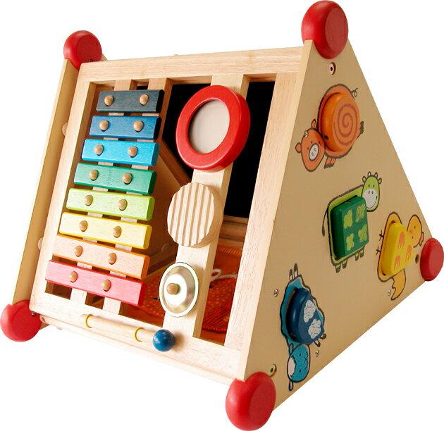 指先レッスンボックス エデュテ I'm TOY(アイムトイ) 出産祝い 手先 指先 知育玩具 知育 おもちゃ 知育おもちゃ 木製 1歳 2歳 送料無料 名入れ