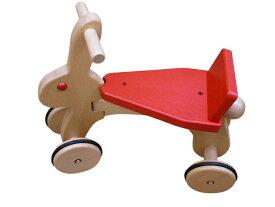 乗用玩具 ラビット 日本製 木のおもちゃ コイデ 赤ちゃん ベビー 幼児 おもちゃ 1歳 2歳 1才 2才 誕生日プレゼント 木製 出産祝い お誕生日 プレゼント