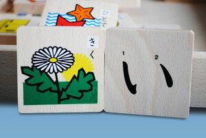 もじあそび(50音と10数字) コイデ東京ひらがな つみき 積み木 あいうえお おもちゃ ドミノ 木のおもちゃ 玩具 ギフト お誕生日 3歳 書き順 日本製 おすすめ 国産
