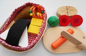 ままごと 食材 「木の布のコラボ 手作りおべんとう」 ままごとセット おままごとセット 名入れ