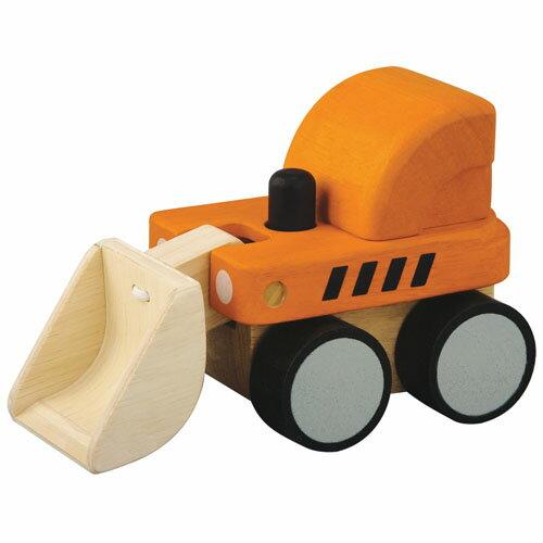 ミニブルドーザー プラントイ 男の子 木のおもちゃ 車 おもちゃ 玩具 木製 誕生日 1歳 2歳 男 誕生日プレゼント 男の子 誕生日 プレゼント オモチャ 名入れ
