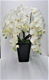 造花造花胡蝶蘭胡蝶蘭造花触媒加工送料無料胡蝶蘭5本立ち2色よりお選び下さい