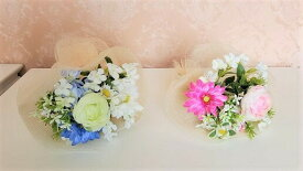 造花フラワーブーケ贈り物花束ラナンキュラス2色よりお選び下さい送料無料