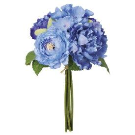 【造花】【ミックスフラワーブーケ】【アスカ商会アイテム】【ハイクオリティーフラワー】ブルーシリーズ【代引不可】