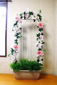 【ガーデンプランター】【ローズプランター】【造花】【薔薇】【送料無料】