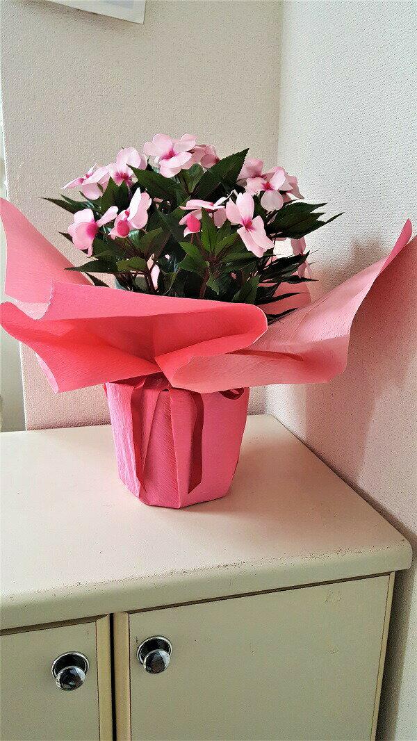 【造花】【インパチェンスポット】【送料無料】「母の日ギフト】