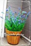 フェミニン*ラベンダープランター*お好みで香りつきに変更できます!可愛いラベンダー7980円全長50cm送料無料沢山いっぱい造花アーティシャルフラワープランター高品質大量注文可能商品ラベンダー造花可愛い素材良質きつつきoriginal
