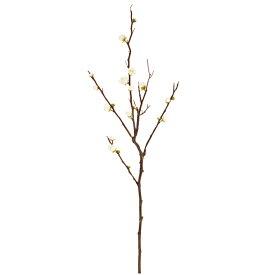 造花/祝い/正月フラワー/梅/早春梅/【代引き不可】【2色よりお選び下さい】ホワイト・ピンク