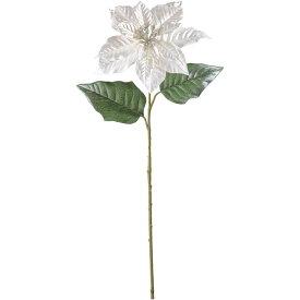 造花/ブライトンポインセチア/2色よりお選び下さい/【代引不可】ホワイト・ピーチゴールド