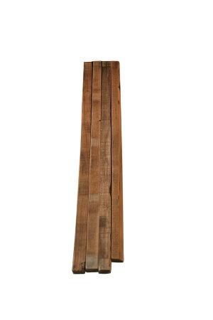 味のある桟木(さんぎ)厚み24〜27mm×幅35mm前後×長さ900〜1000mm程度4本セット(杉・古材)【DIY】【古材】【木材】