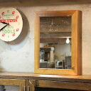 OLD ASHIBA(足場板古材)ミラーキャビネット Lサイズ 塗装仕上げ幅500mm×高さ680mm×奥行150mm【洗面収納棚】【洗…