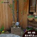 スクエア プランターXLサイズ(2.5段)幅440mm×奥行440mm×高さ475mm【小型〜大型までサイズ多数】【木製プランター…