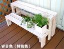 【フラワースタンド】プランター台/花台棚板セット2段