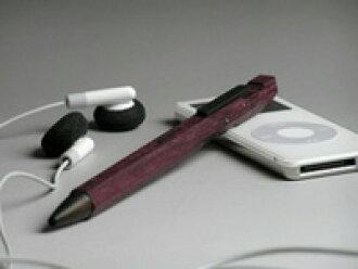 MACINARI Ball pen 마 키 ' 볼펜 (나무 볼펜) 퍼플 하트 (퍼플)