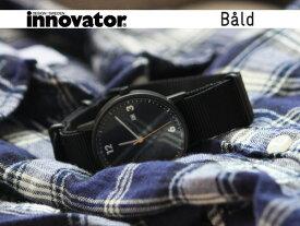イノベーター innovator 腕時計(ウォッチ) バルド WATCH Bald ブラック×ブラック