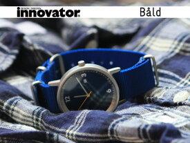 イノベーター innovator 腕時計(ウォッチ) バルド WATCH Bald ブルー×ブルー