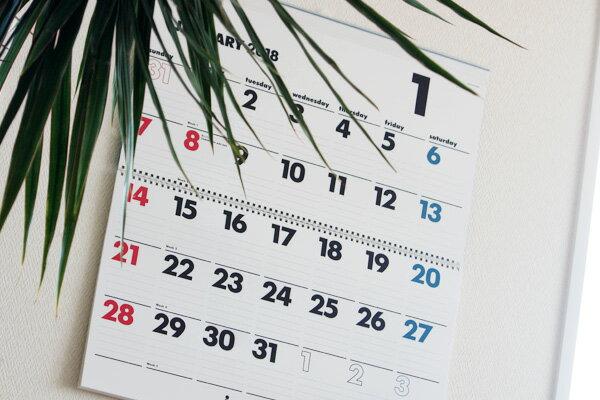 【送料無料】イノベーター innovator 2018年度版、壁掛カレンダー(ウォールカレンダー) Lサイズ