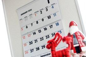 イノベーター innovator 2020年度版、壁掛カレンダー(ウォールカレンダー) Lサイズ