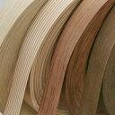 樹種:ナラ(ホワイトオーク)天然木 突き板 ウッドテープ 粘着付 40mmx10M