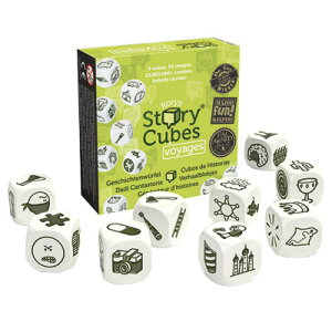 【500円引きクーポン配布中】ダイスゲーム ストーリーキューブ冒険(Rory's Story Cubes voyages)
