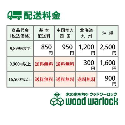ウッドワーロックの配送情報
