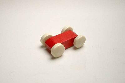 トレインカースロープの車赤