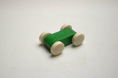 トレインカースロープの車緑