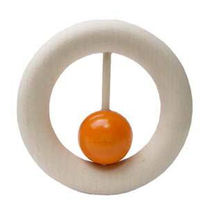 【ポイント5倍】ネフ社(naef)おしゃぶりカウリング 橙