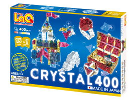 LaQ(ラキュー)Free Style CRYSTALフリースタイル クリスタル(400P)