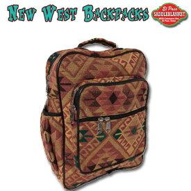 エルパソ サドルブランケット ネイティブ柄 ニューウエスト バックパック 22L (Eタイプ)( リュック リュックサック バッグ 鞄 )