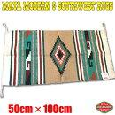 エルパソサドルブランケットマヤモダン&サウスウエストラグマットSサイズ50cm×100cm