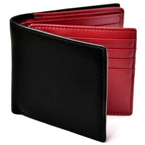 財布二つ折りメンズカード18枚収納本革Lesourire