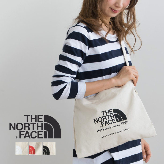 ◇[NM81765] THE NORTH FACE(ザ・ノース フェイス) MUSETTE TOTE (ミュゼットトート/エコバッグ)【メール便対応可】GN
