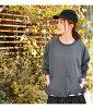 [SMA-PENPOCKET]SOLAMONAT (SORA Mona) ペンネ T-cloth pocket pullover / cut-and-sew YA