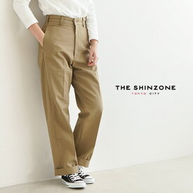 [20SMSPA58]THE SHINZONE(ザ シンゾーン)HIGH WAIST CHINOPANTS/ハイウエストチノパンツ【メール便対象外】【送料・代引き手数料無料】oEZ