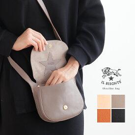 ☆【国内正規販売店】[54182-3-05711] IL BISONTE(イルビゾンテ) Shoulder bag/ショルダーバッグ【メール便対象外】【送料・代引き手数料無料】RN