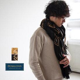 【ポイント最大26倍 14日20:00から】[GS699] PENDLETON(ペンドルトン)Oversize Wool Scarf(オーバーサイズウールスカーフ/ストール)【メール便対応可・メール便送料無料】【送料・代引き手数料無料】ND