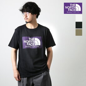 ◎◎◇[NT3064N]THE NORTH FACE PURPLE LABEL (ザ・ノースフェイス パープルレーベル)H/S Logo Tee(H/S ロゴ ティー)【メール便対応可】fQQ【SUMMER SALE20%OFF】