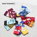 [MY071001]MANY MORNINGS(メニーモーニングス)靴下/ソックス【メール便対応可】uRS
