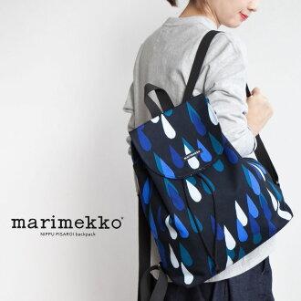 [52164-6-44803] marimekko(marimekko)PISAROI/NIPPU backpack比薩羅伊背包/帆布背包Y