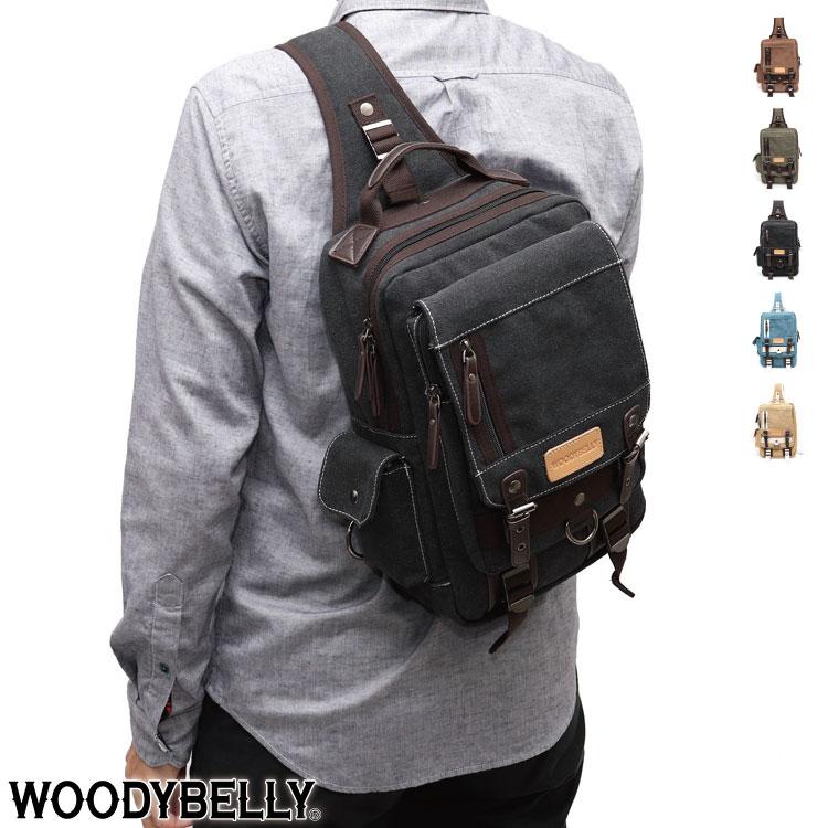 ボディバッグ メンズ 帆布(キャンバス生地)A4サイズの大型ボディーバッグ(ワンショルダーバッグ)は大容量収納で軽量(軽い) 男性・レディースへプレゼントに 斜めがけ、肩掛けバッグ /帆布バッグ 旅行カバン コットンバッグ 鞄(かばん) カバン スマホ入