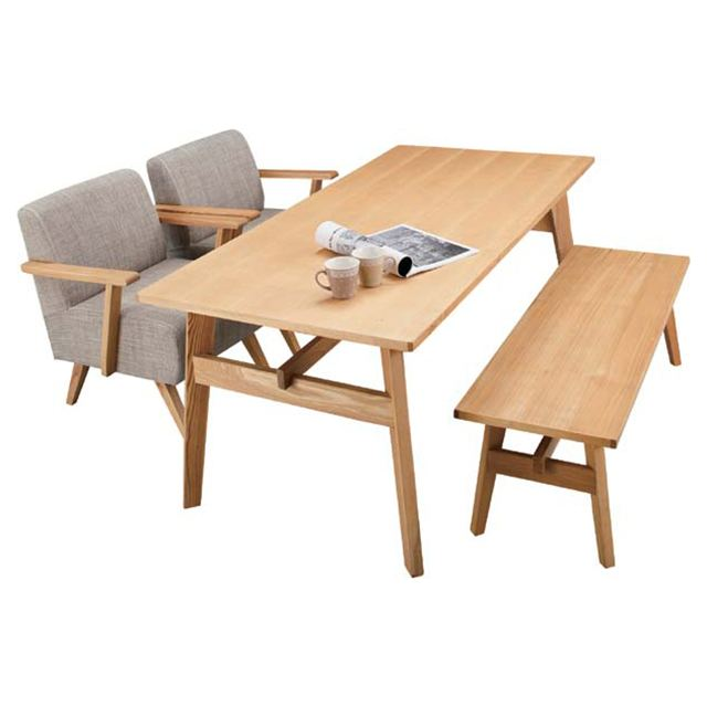 Dining Table Wood Country 4 Person Dining Table For Four People, Natural  Dining Table Dining Room Tables Dining Table Café Table Width 160 Cm Dining  Table ...
