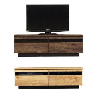 電視站小吃 lowboard 完成木制斯堪的納維亞寬度 120 釐米高板電視板電視站電視站使生活板 AV 機架 AV 存儲 AV 板布朗自然國內日本