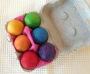 グリムス社 GMボール・レインボー 6色のカラフル木玉 Grimm'S 木製ボール GM10239
