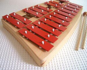 【特別セール】ゾノア社 SONOR 二段メタルフォン NG30 正規輸入品【木のおもちゃ 楽器 鉄琴 木製 木製玩具 ゾノア メタルフォン】